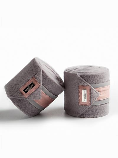 Equestrian Stockholm Dusty Pink Fleece Bandages France