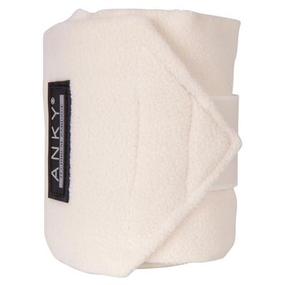 ANKY off-white cream fleece bandages France